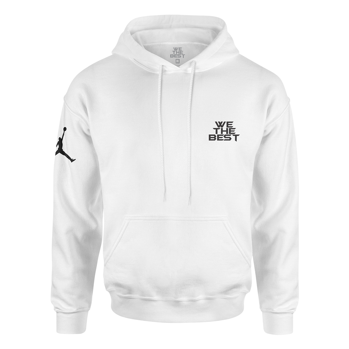 DJ Khaled x Jordan Leather Sneakers Hoodie - White + Father of Asahd Album Download