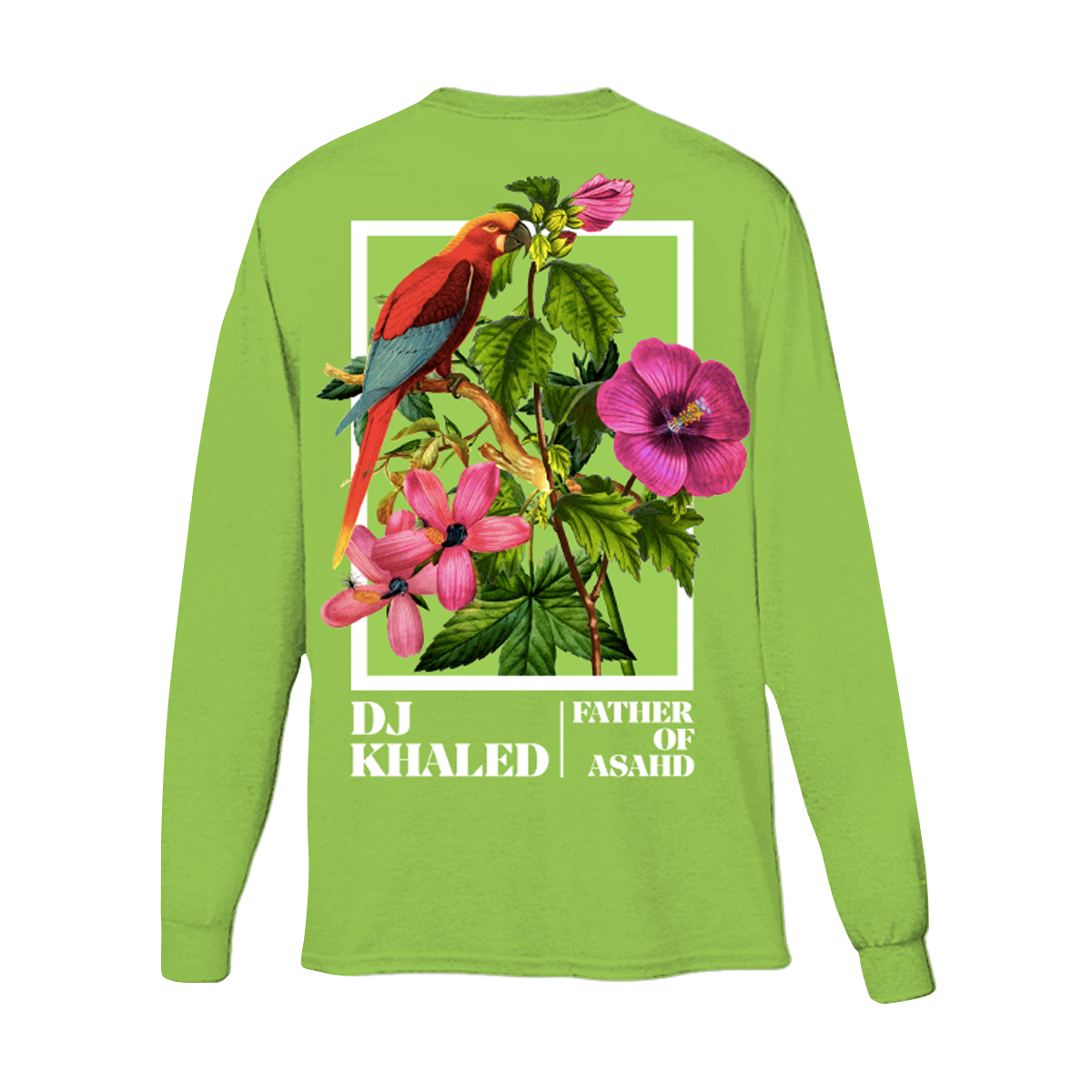 Father of Asahd Green Long Sleeve T-shirt
