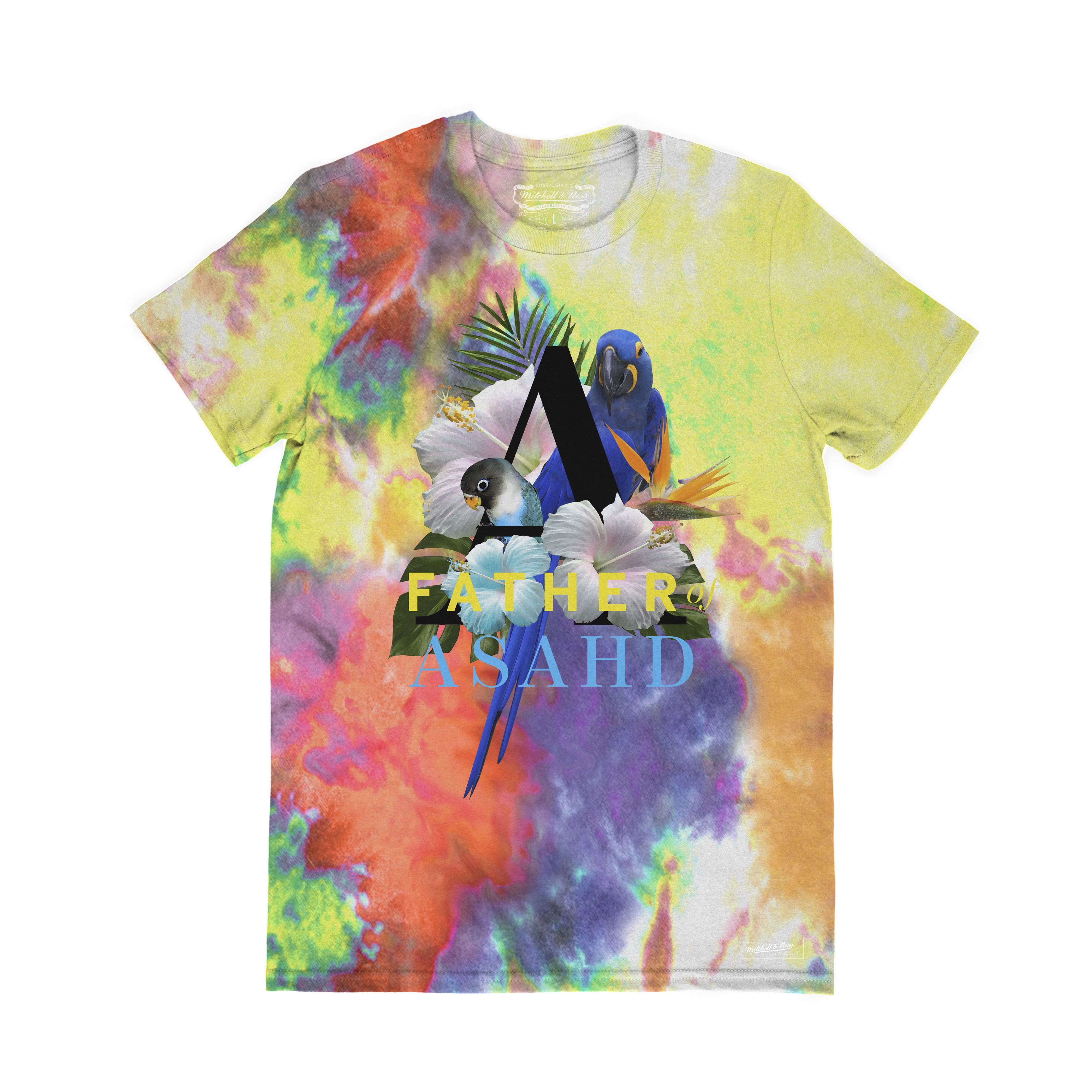 Father of Asahd x Mitchell & Ness Tie-Dye T-Shirt
