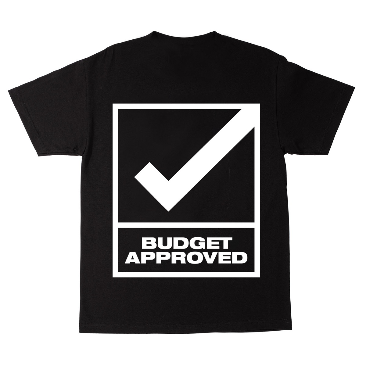 "Father of Asahd ""Budget Approved"" Black T-Shirt"