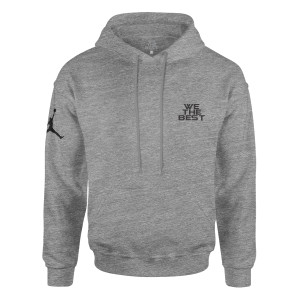 DJ Khaled x Jordan Suede Sneakers Hoodie - Grey + Father of Asahd Album Download