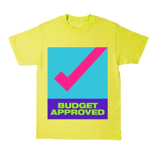 "Father of Asahd ""Budget Approved"" Yellow T-Shirt + Father of Asahd Album Download"