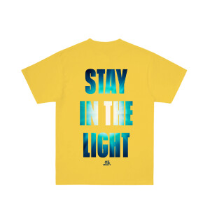 Stay in the Light Yellow T-Shirt