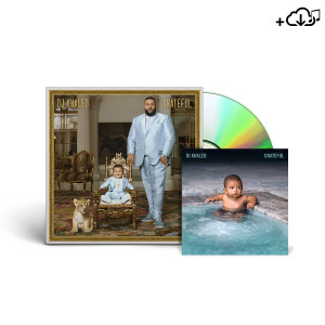 #GRATEFUL DOUBLE CD + DIGITAL ALBUM