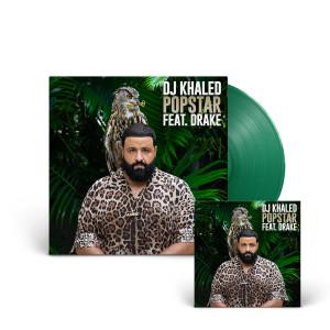 """SIGNED """"POPSTAR"""" 7"""" Green Single LP + Digital Download"""