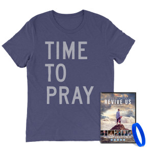 Revive Us  DVD +  Time To Pray T-Shirt Bundle