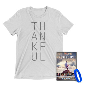 Revive Us DVD + Thankful T-Shirt Bundle