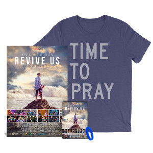 Revive Us DVD + Time To Pray T-Shirt + Signed Limited Edition Poster Bundle