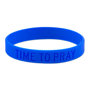 Time To Pray Wristband