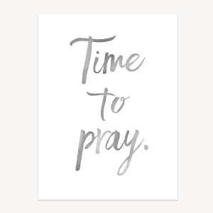 Time to Pray Wall Art