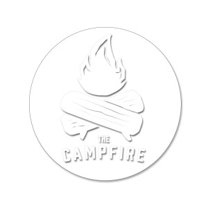 The Campfire Sticker