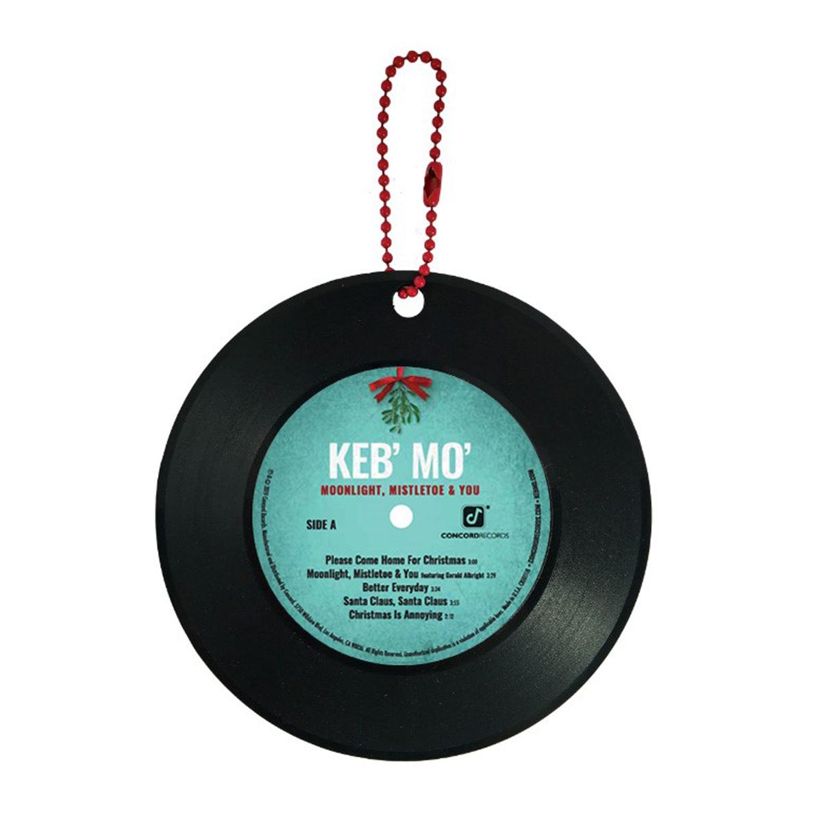 Moonlight Mistletoe & You Ornaments