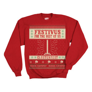Colossal Clusterfest Seinfeld Christmas Sweater