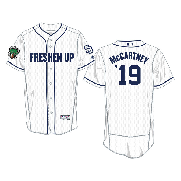 low priced d282e dee65 Official MLB San Diego White Baseball Jersey | Shop the Paul ...