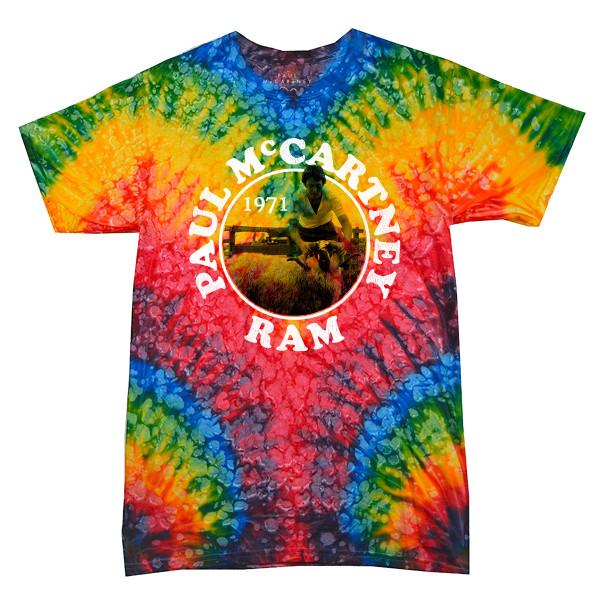 Tie Dye Ram T-Shirt | Shop the Paul McCartney Merch Official