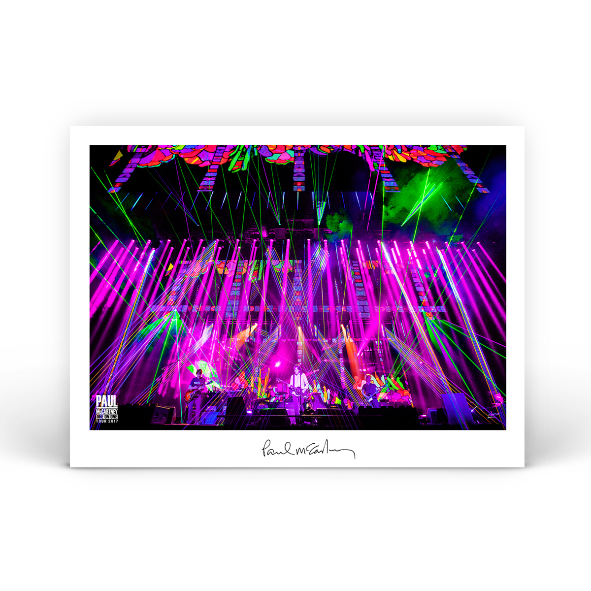 Bright Lights Litho