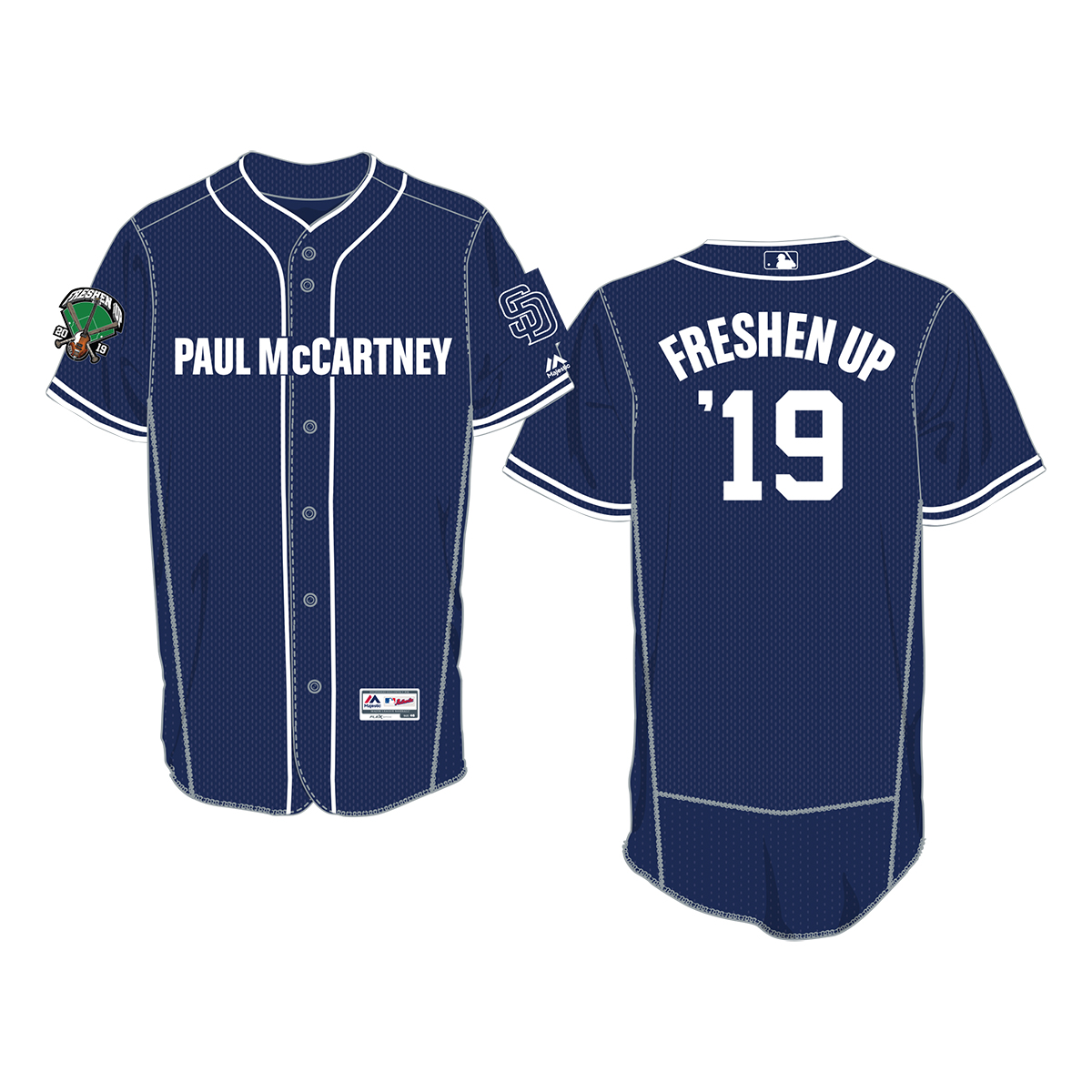Official MLB San Diego Blue Baseball Jersey