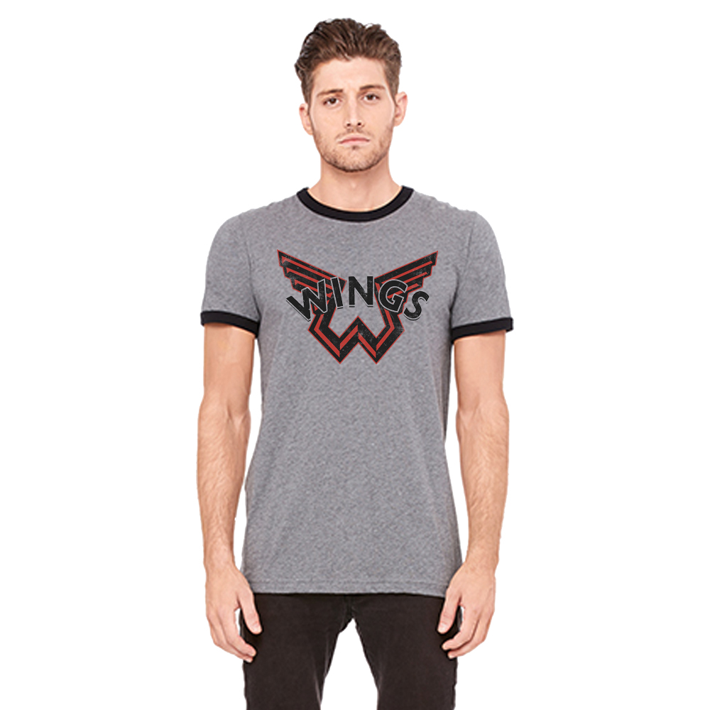 Wings City Ringer T-Shirt