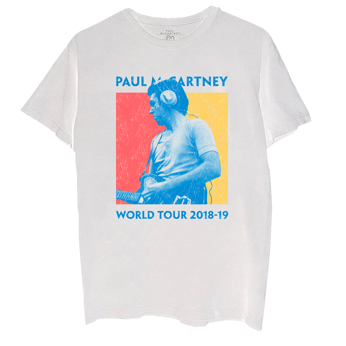 Color Block World Tour Photo T-Shirt