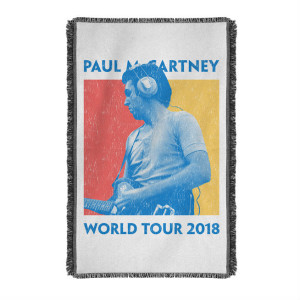 World Tour 2018 Woven Blanket