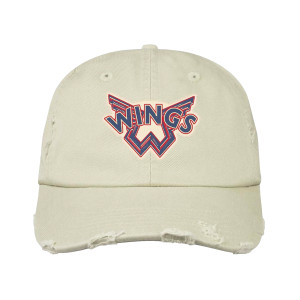 Wings White Dad Hat