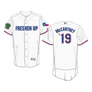 Official MLB Arlington, TX White Jersey