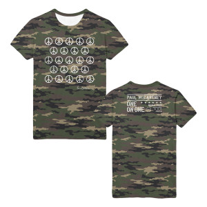 Ban the Bomb Camo T-shirt