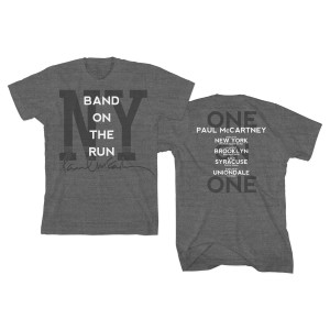 Band on the Run New York Grey T-Shirt