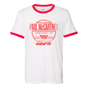Freshen Up 2018-19 Tour Ringer T-Shirt