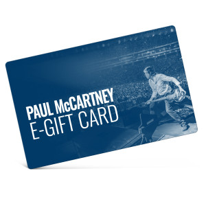 Paul McCartney eGift Card