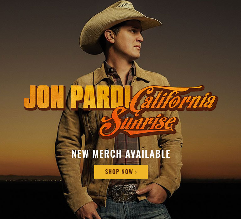 Welcome to the Jon Pardi Store