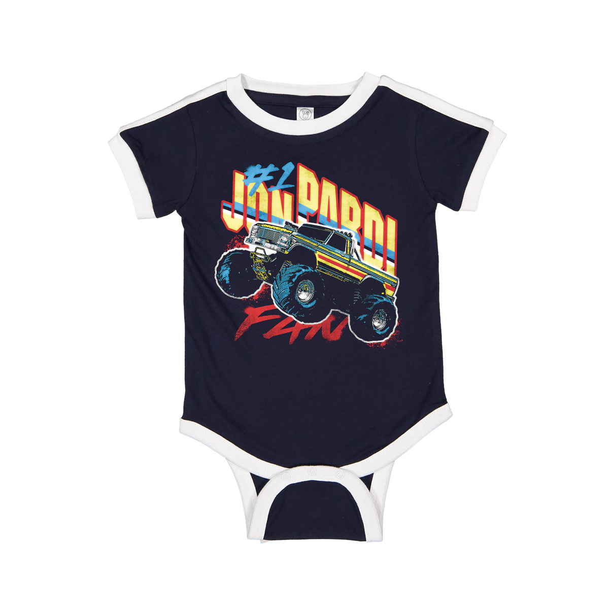 Monster Truck Onesie