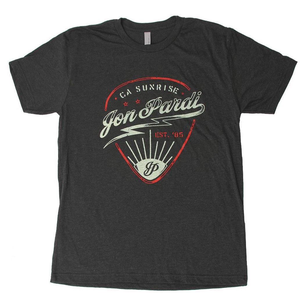Guitar Pick T-Shirt - Vintage Black