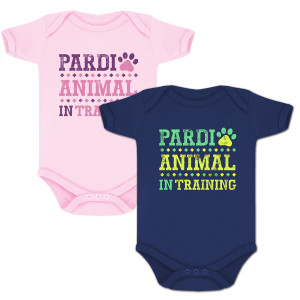 Pardianimal In Training Onesie