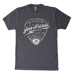 Guitar Pick T-Shirt - Gray