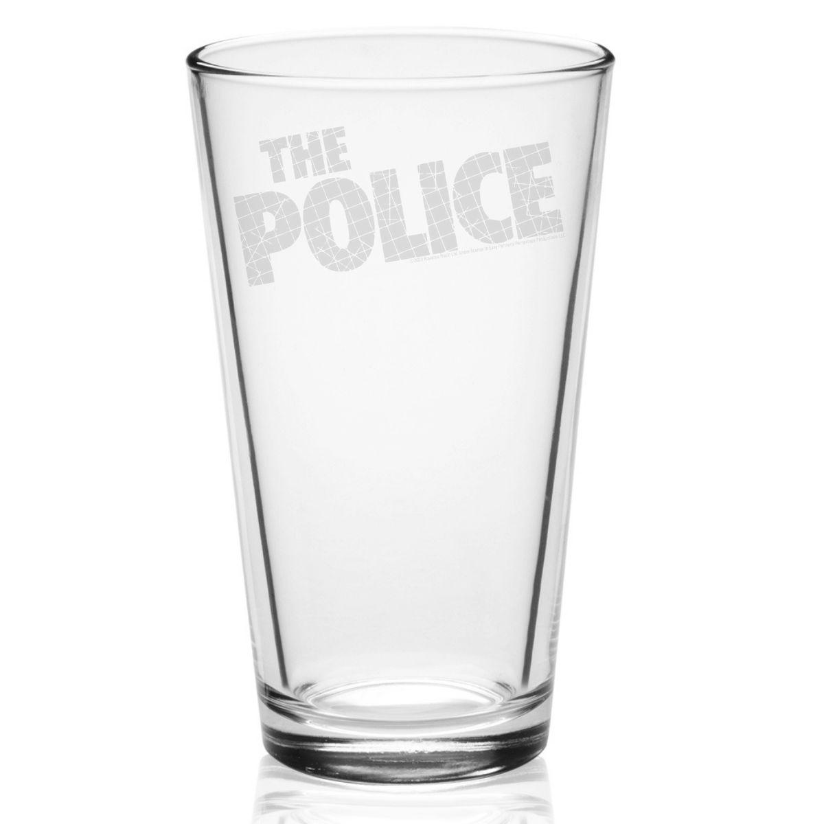 Zentatta Logo Laser-Etched Pint Glass
