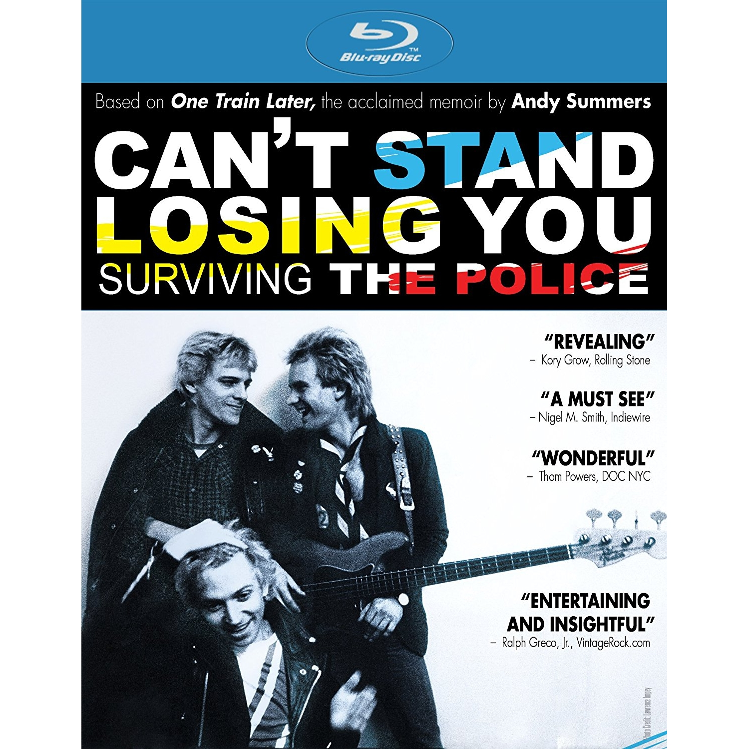 Can't Stand Losing You Blu-Ray