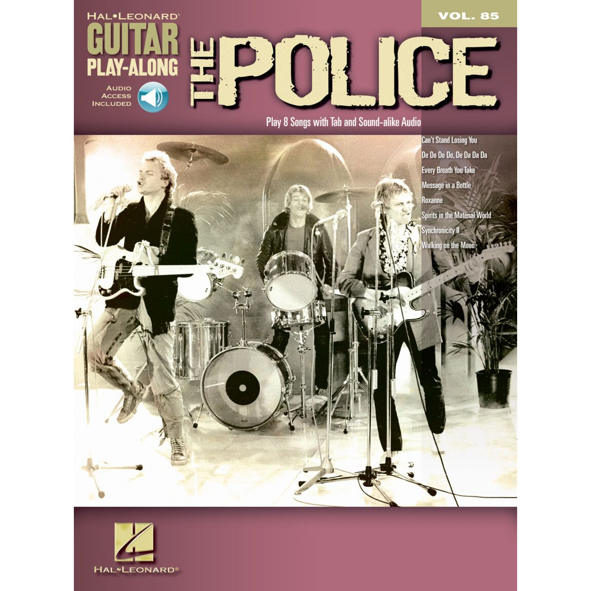 The Police Guitar Play-Along Audio and TAB
