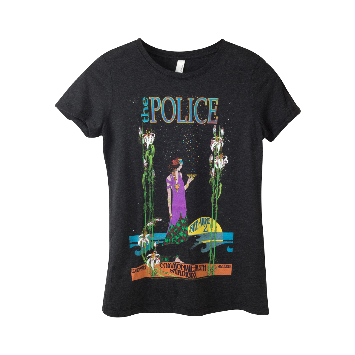 The Police Bob Masse Tour Poster Women's T-Shirt
