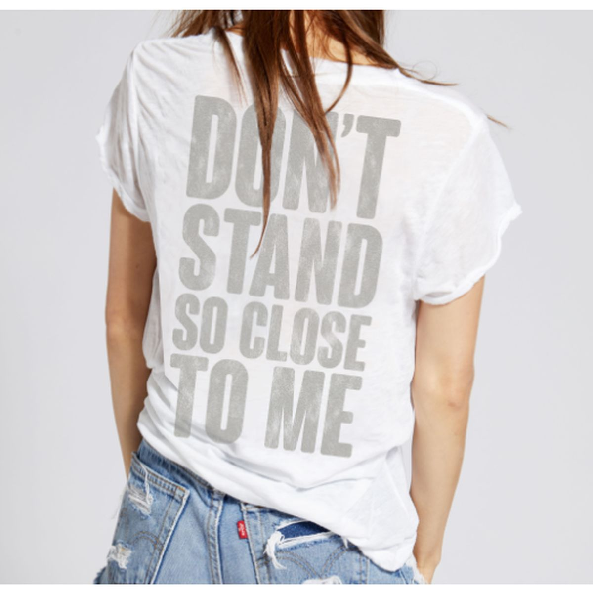 Don't Stand So Close to Me Vintage Tee