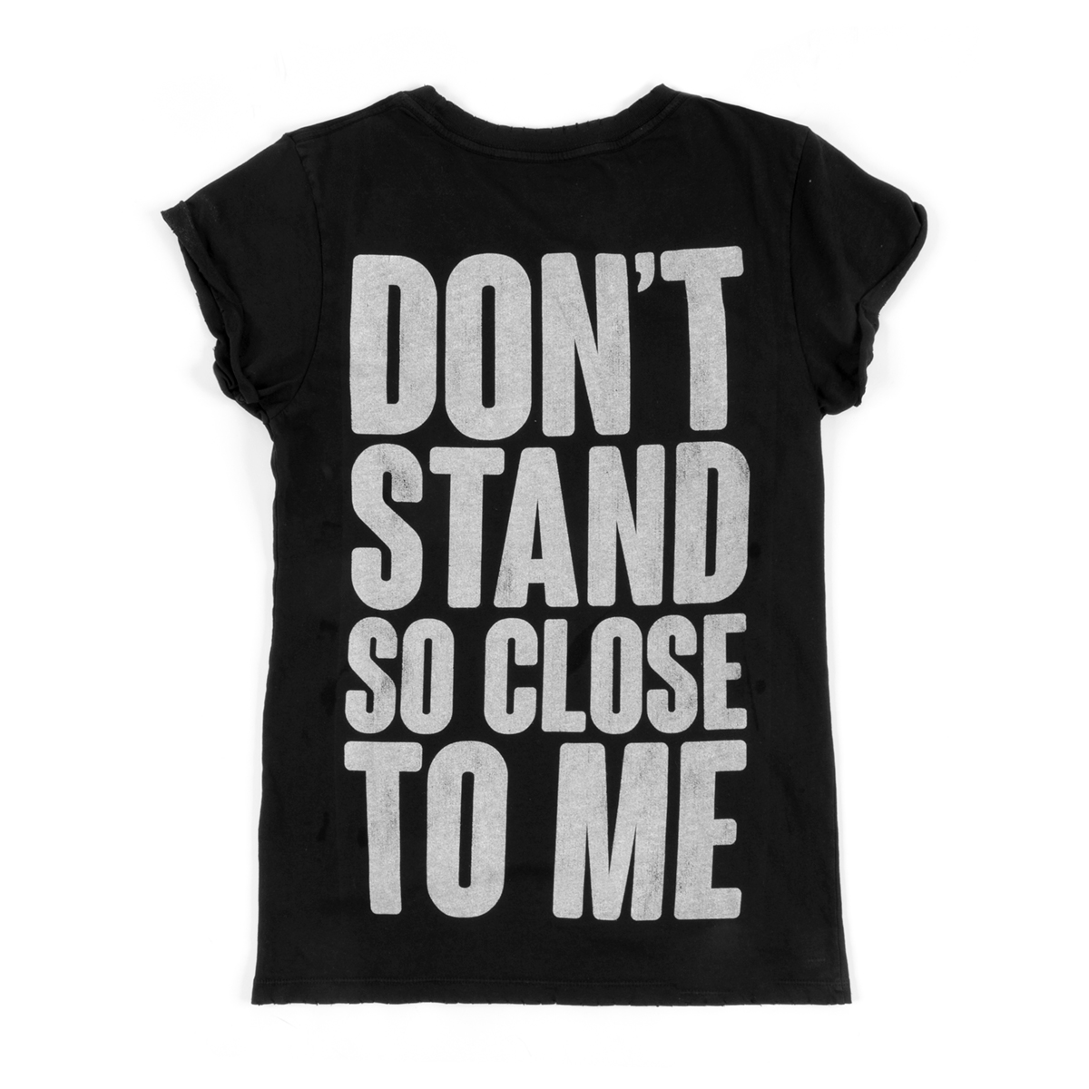 Don't Stand So Close to Me Black Tee