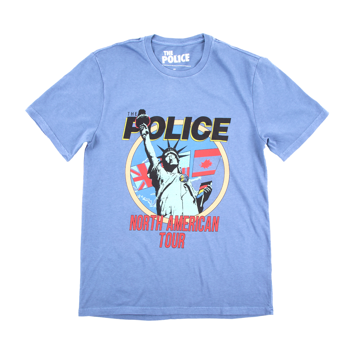 The Police 1983 North American Tour T-shirt