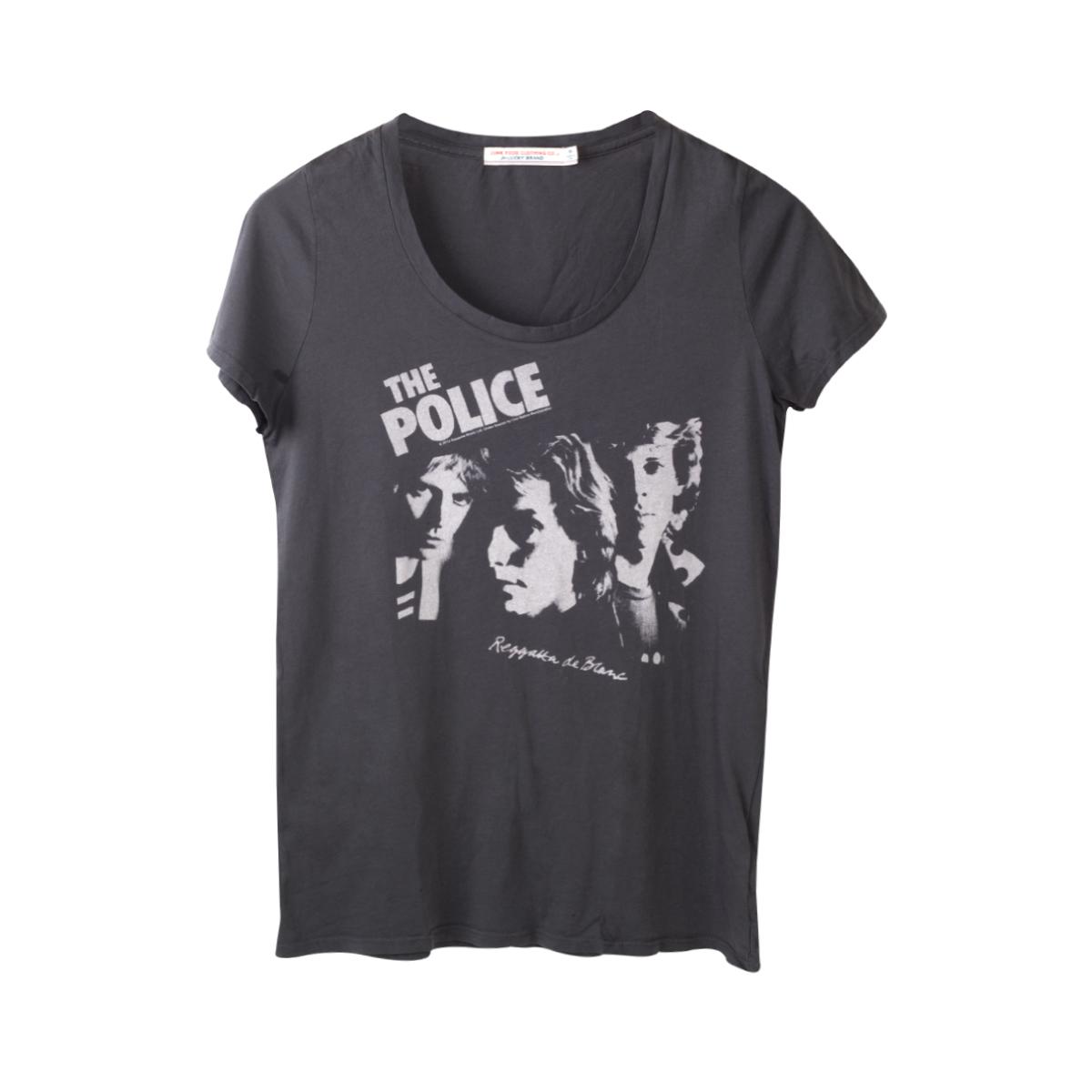 The Police Women's Scoop Neck Regatta de Blanc T-Shirt