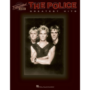 The Police Greatest Hits Bass Drums Guitar Transcribed Score TAB