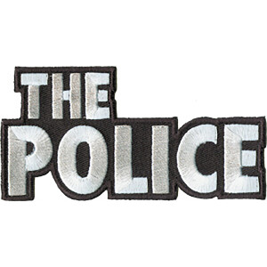 """The Police Logo 4""""x2"""" Patch"""