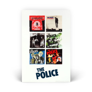 The Police Six Pack Poster