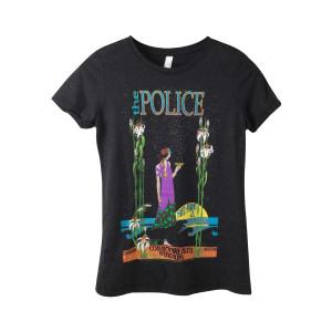 The Police Bob Masse Tour Poster Women's T-Shirt