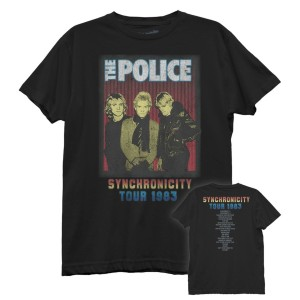 The Police Synchronicity Tour Distressed T-shirt