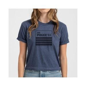 Police '83 Retro Crop Top