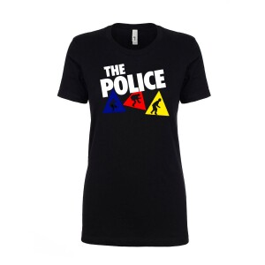 Women's Colored Triangles T-Shirt